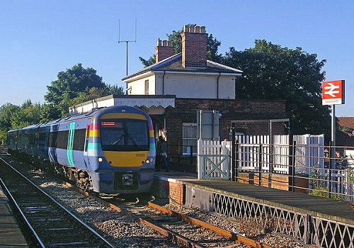 Halesworth Railway station is the closest station to Halesworth.