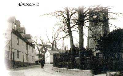 The Almshouses, Steeple End